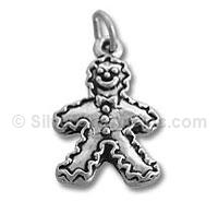 Large Gingerbread Man Charm
