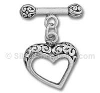 Filigree Heart Toggle