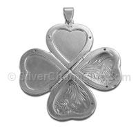 4 Picture Heart Locket