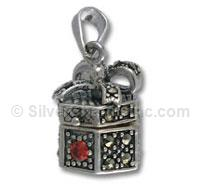 Gift Box with Marcasite