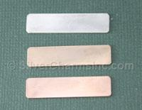 Gold Filled Bar Stamping Blank
